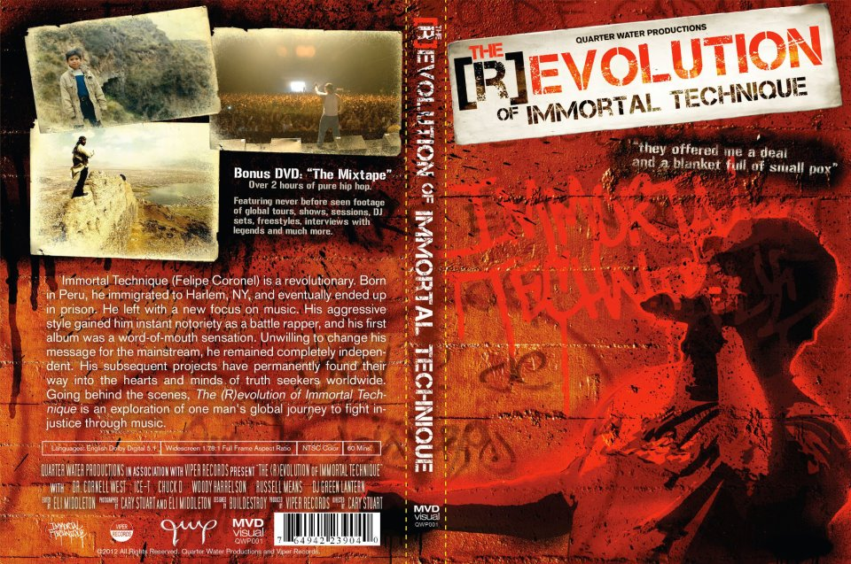 The (R)evolution of Immortal Technique Movie | SickSideSS Blog
